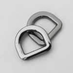 D-Ringe [gunmetal.12mm], 2 Stück