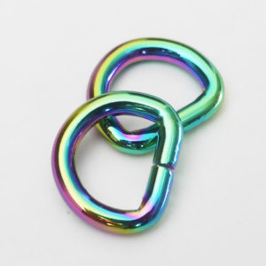 D-Ringe [rainbow], 2 Stück
