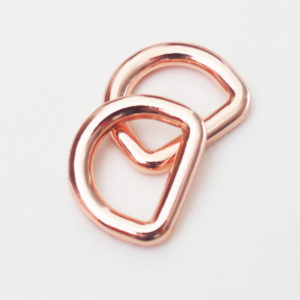 D-Ringe [rosé.12mm], 2 Stück